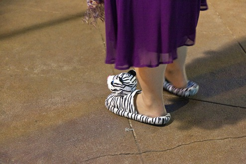 1686_White Tiger Houseshoes