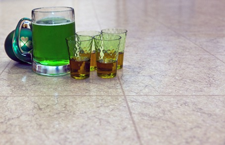 2834_Green Beer and Whiskey