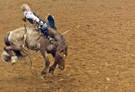 4451_Bareback Bronco Riding