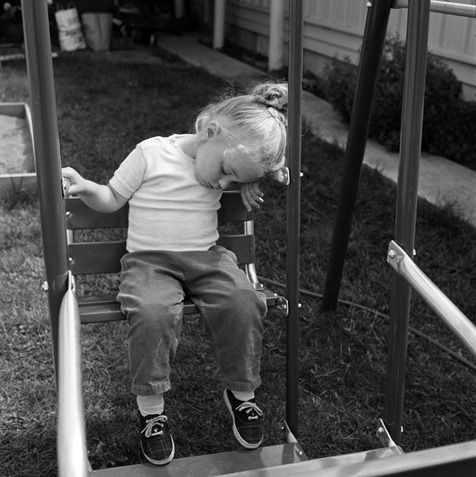 Asleep On The Swing