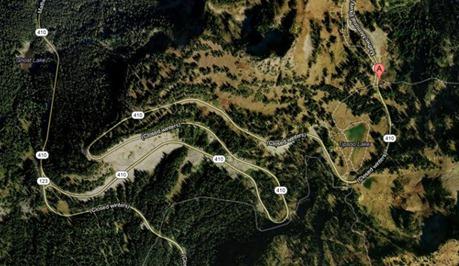 Chinook Pass Satellite