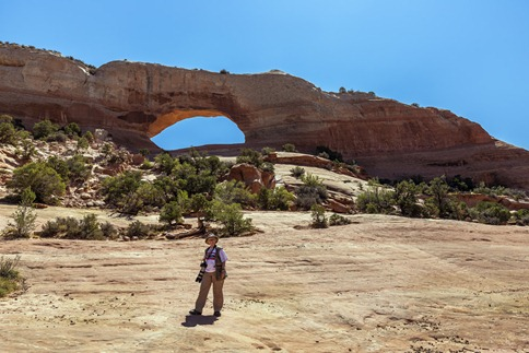 C2C7741_Becky At Wilson Arch