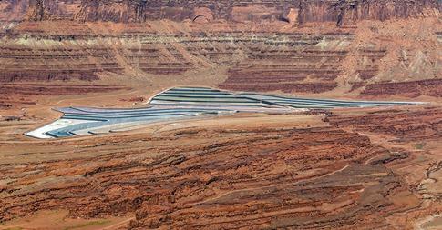 B5A6587_Solar Evaporation Ponds for Potash