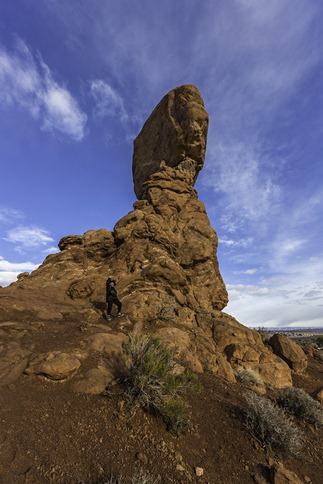Becky and Balanced Rock