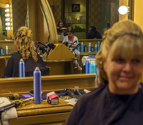 Bonnie Hair Mirrors Reflections