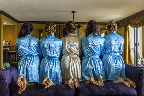 Bride and Bridesmaids Robes
