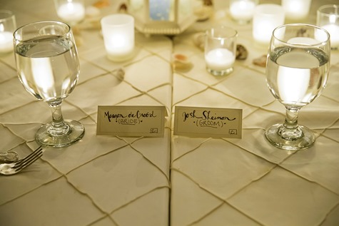 Bride & Groom Seating Assignments
