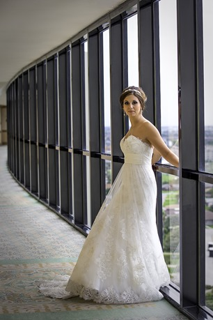 Bride In The Hallway