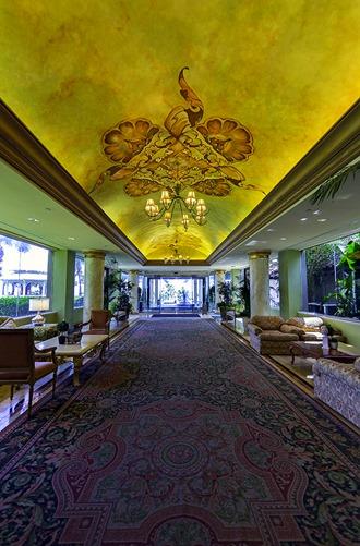 San Luis Resort Entryway