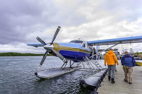 Boarding The Floatplane