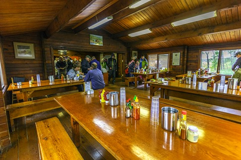 Brooks Lodge Mess Hall