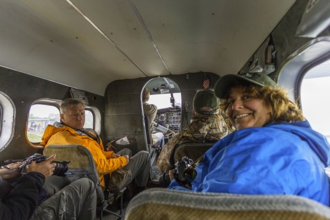 Inside Katmai Air Floatplane