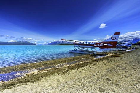 On The Shore of Naknek Lake