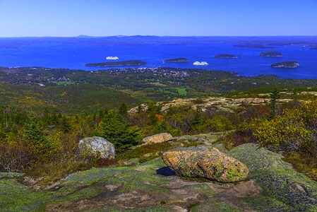 A Cadillac Mt View Of Bar Harbor
