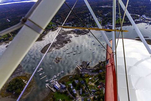 Bass Harbor From Above