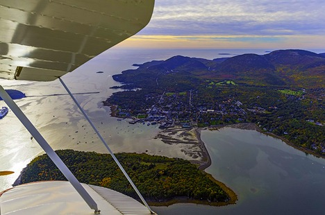 Over Bar Harbor
