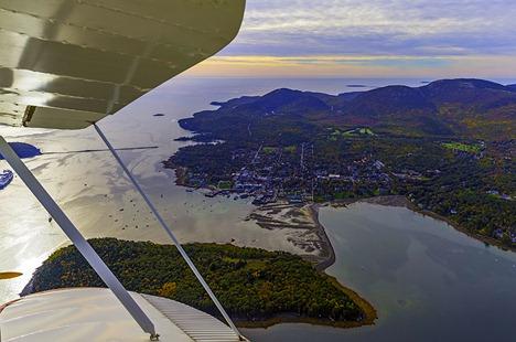 Over Bar Harbor