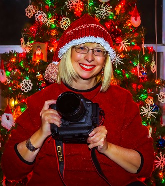 Christmas Camera Becky-Flash