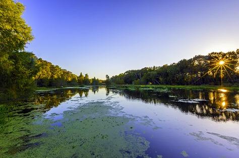 Evening At Creekfield Lake2