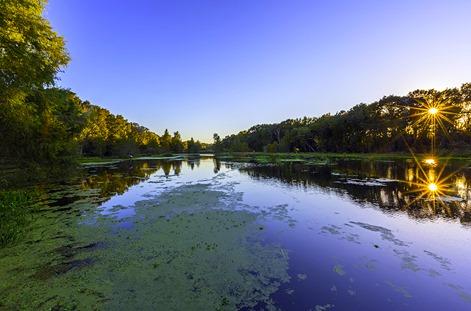 Evening At Creekfield Lake3