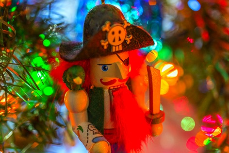 Pirate Nutcracker Ornament