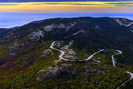 The Road To Cadillac Mountain