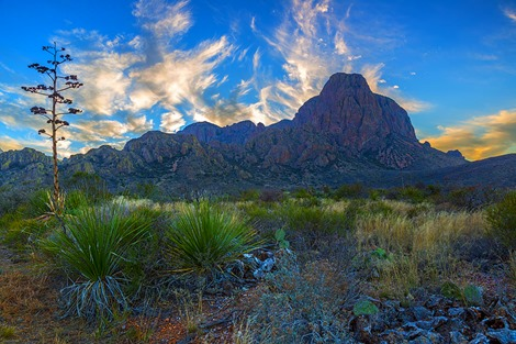 Chisos Mountain Evening