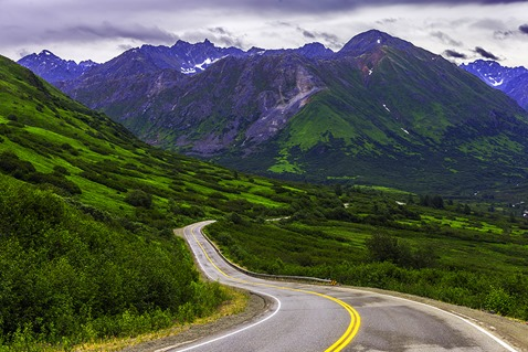 Road To The Talkeetna Mts