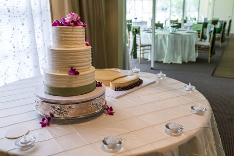 Wedding Cakes and Reception Setup