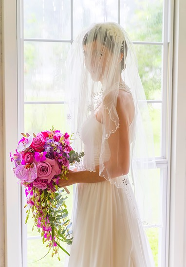 Adrienne Veil and Bouquet