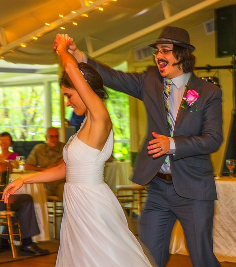 First Dance - Twirling His Bride