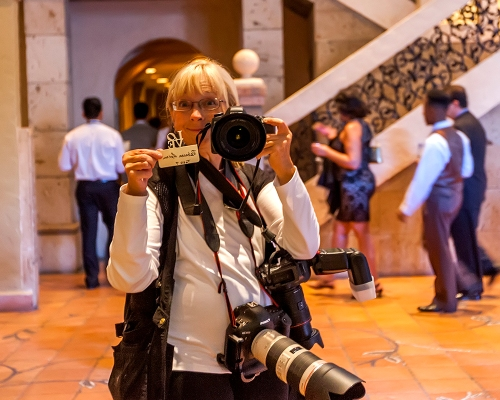 Photographer and Guest - My Table Assignment