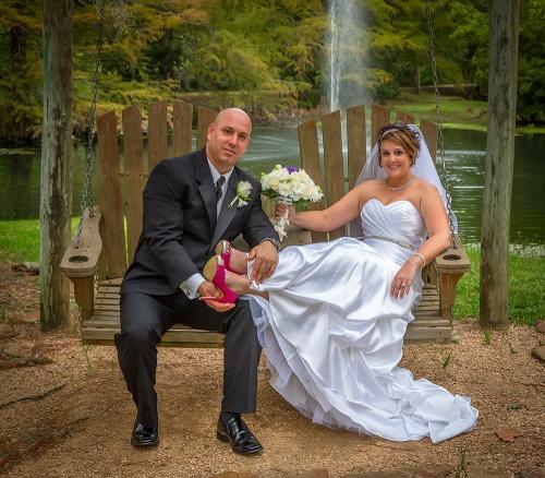 Bride-Groom-Pink Shoes