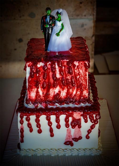 The Grooms Zombie Cake FX