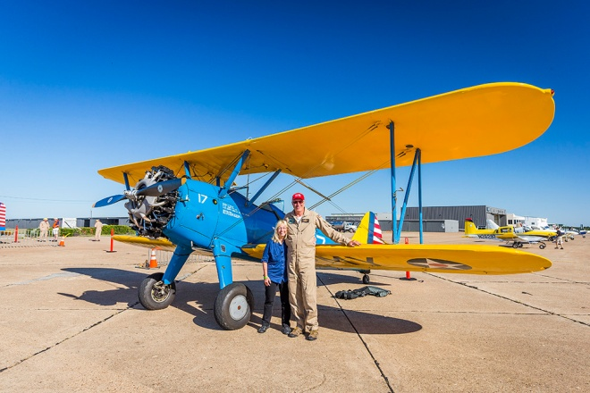 Becky Bill and the Stearman