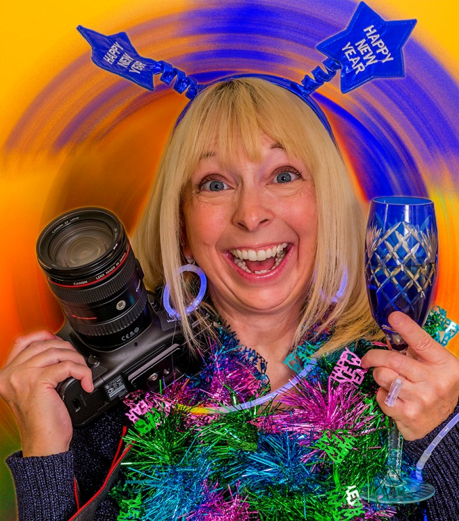New Year Becky Camera Glass