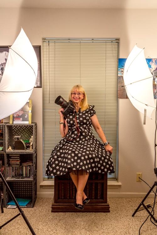 Becky-New Dress-Camera