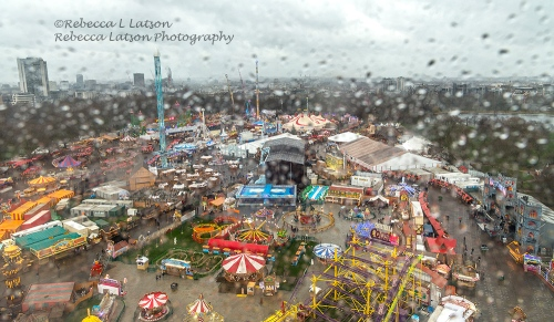 Rainy Christmas Eve At The Winter Wonderland