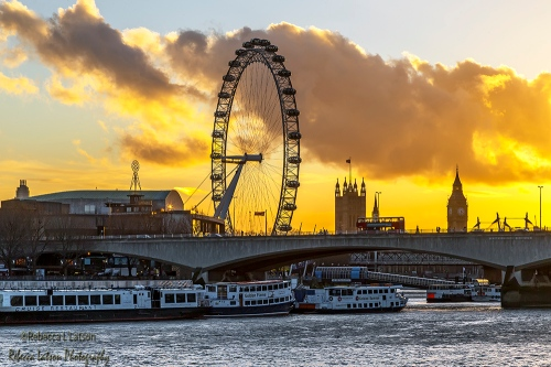 London Icons In The Evening