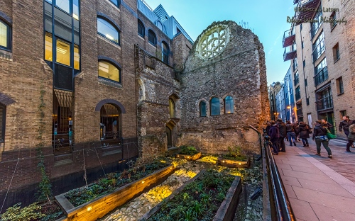 All That Remains Of Winchester Palace