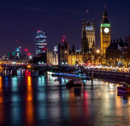 Bright Lights On The Thames