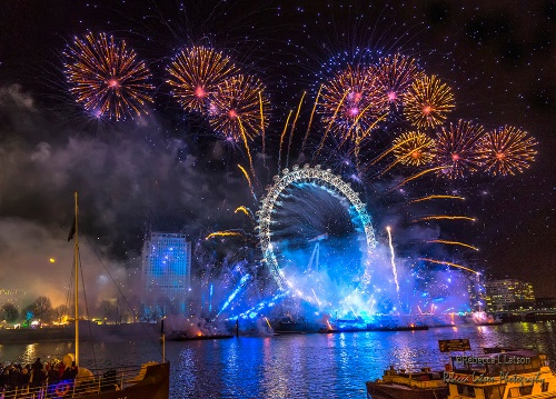 Happy New Year UK 2016