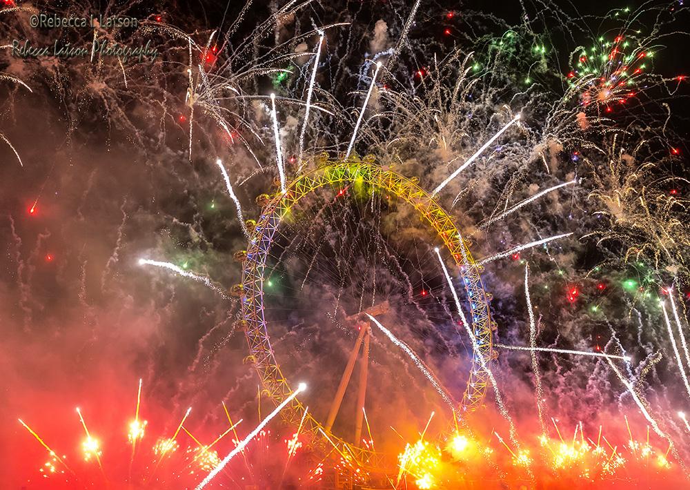 Happy New Year London 2016