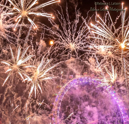 Happy New Year London 2016