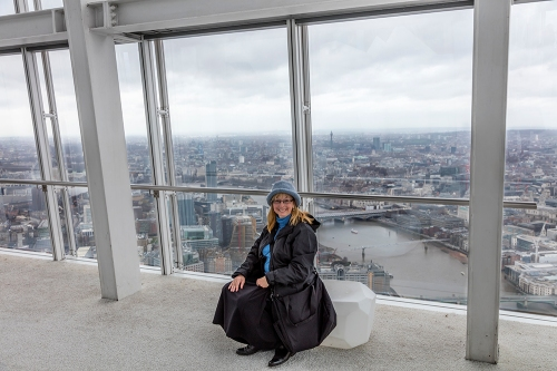 Becky In The Shard