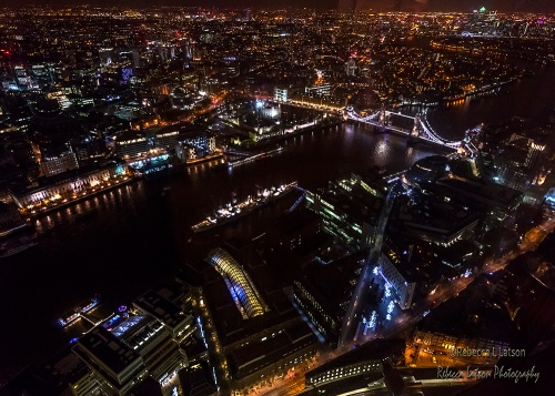 Night View From The Shard