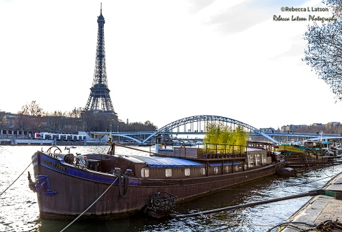 A Parisian Houseboat