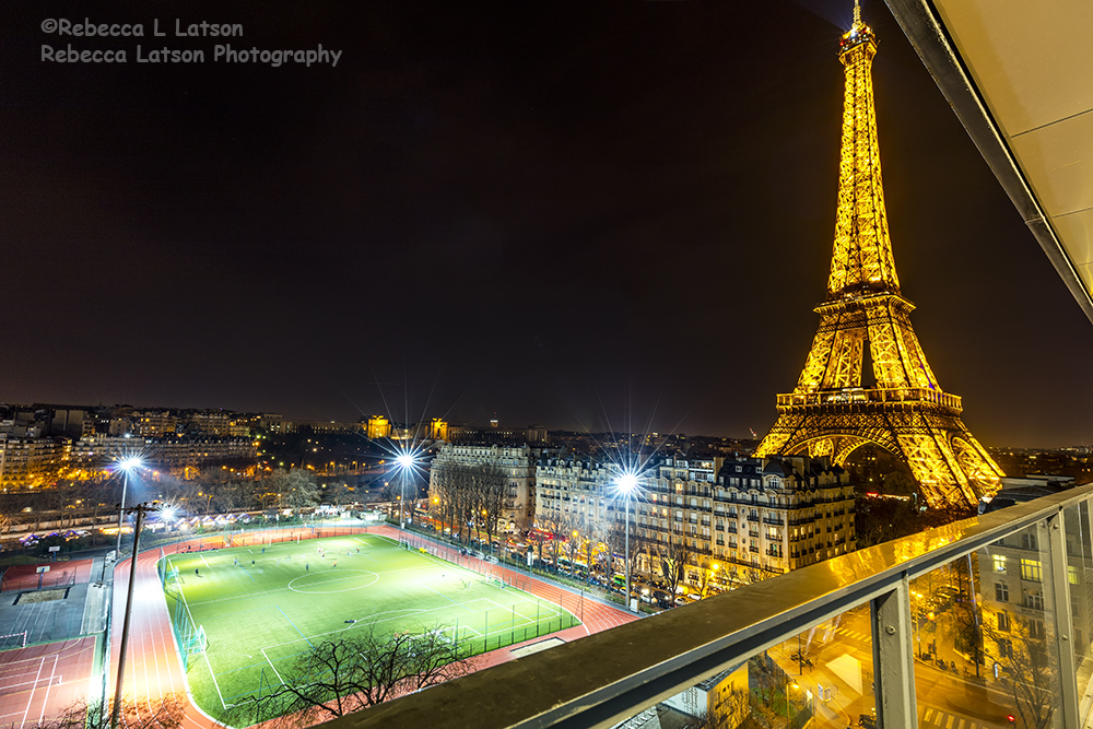 Night View From My Paris Room