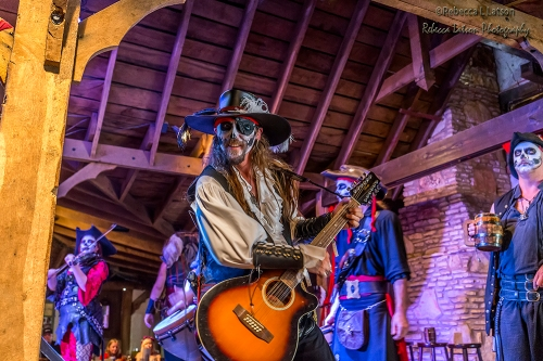Pirates Performing in the Feasthall