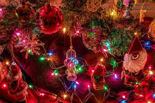 Christmas Lights And Ornaments